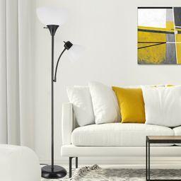 "Edgehill 72"" Torchiere Floor Lamp | Wayfair North America"