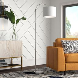 "Buendia 65"" Arched Floor Lamp | Wayfair North America"