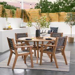 Outdoor Rug Reversible Stripe Tonal - Threshold™ Designed with Studio McGee | Target