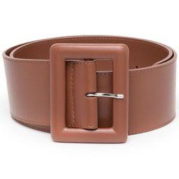 wide leather belt   Farfetch (US)