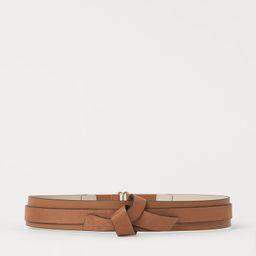 Knot-detail Waist Belt   H&M (US)