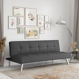 "Twin 66.1"" Wide Tufted Back Convertible Sofa | Wayfair North America"