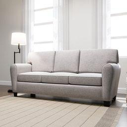 "Kempton 88.5"" Round Arm Sofa with Reversible Cushions | Wayfair North America"