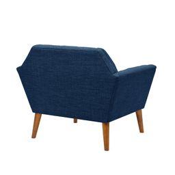 "Hoboken 38"" Wide Tufted Polyester Armchair | Wayfair North America"