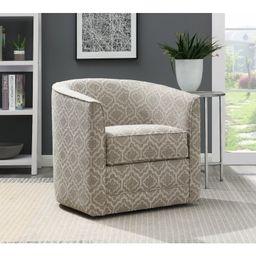 "Euben 30"" Wide Swivel Barrel Chair | Wayfair North America"
