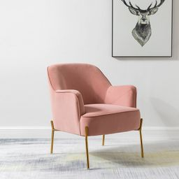 "Dallin 28"" Wide Velvet Armchair | Wayfair North America"