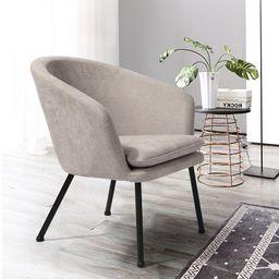 "Brittnie 21.85"" Wide Polyester Barrel Chair | Wayfair North America"