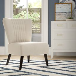 """Trent 25.2"""" Wide Polyester Side Chair 