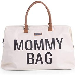 CHILDHOME Mommy Bag Big - Functional Large Baby Diaper Travel Bag for Baby Care. | Amazon (US)