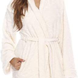 Just Love Printed Plush Robe for Women | Amazon (US)