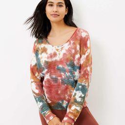 Lou & Grey Tie Dye Sweater | LOFT