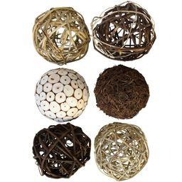 6 Piece Schall Decorative Balls for Bowls   Wayfair North America