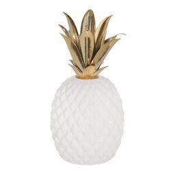 Trott Ceramic and Metal Pineapple   Wayfair North America