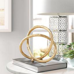 Casandra Eternal Loop Sculpture   Wayfair North America