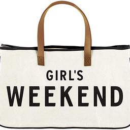 Santa Barbara Designs Hold Everything Canvas Tote, Large, Girl's Weekend   Amazon (US)