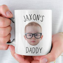 Custom Baby Face Mug / Baby Photo Mug / Personalized Baby Face Mug / Mug Gift For Dad / Mug For N... | Etsy (US)