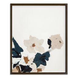 Abstract Botanical Floral Diptych I | Minted