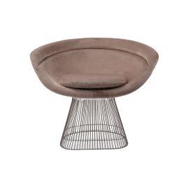 Warren Platner Lounge Chair - Chrome Base   Eternity Modern