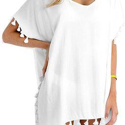 Yincro Women's Chiffon Swimsuit Beach Bathing Suit Cover Ups for Swimwear   Amazon (US)
