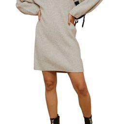 TOPSHOPOversize Sweater Dress | Nordstrom Rack