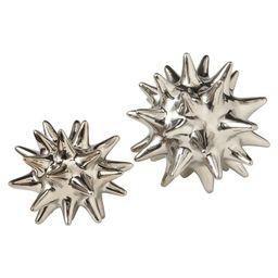 Hamblen Urchin Shiny Silver Object | Wayfair North America