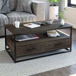 Southside Frame Coffee Table with Storage | Wayfair North America
