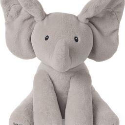 "Baby GUND Animated Flappy The Elephant Stuffed Animal Baby Toy Plush, Gray, 12"" | Amazon (US)"
