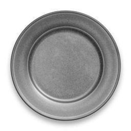"""10.5"""" Melamine and Bamboo Dinner Plate Gray - Threshold™   Target"""