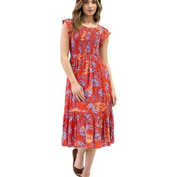 Still On Vacay Midi Dress | Zappos