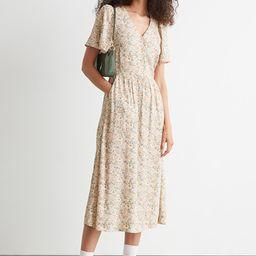 Flutter Sleeve Maxi Dress | & Other Stories