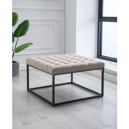 """Kennedy 28"""" Wide Tufted Square Standard Ottoman 