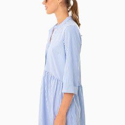 Blue Stripe Royal Shirt Dress | Tuckernuck (US)