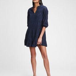 Eyelet Mini Dress | Gap (US)