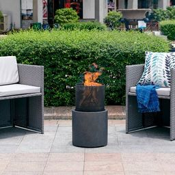 Delshire Polyresin Wood Burning Fire Pit | Wayfair North America