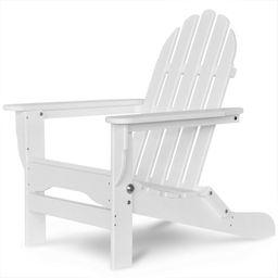 Hartington Plastic Folding Adirondack Chair   Wayfair North America