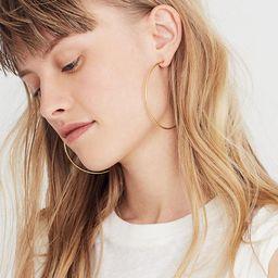 Oversized Hoop Earrings | Madewell