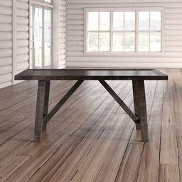 Ernie Acacia Solid Wood Dining Table | Wayfair North America
