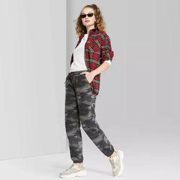 High-Rise Vintage Jogger Sweatpants - Wild Fable™ | Target