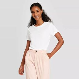 Women's Short Sleeve Casual T-Shirt - A New Day™ | Target