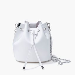 Faux Leather Crossbody Bucket Bag   Forever 21 (US)