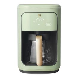 Beautiful 14 Cup Programmable Touchscreen Coffee Maker, Sage Green by Drew Barrymore   Walmart (US)