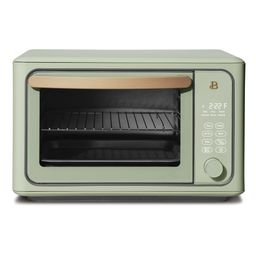 Beautiful 6 Slice Touchscreen Air Fryer Toaster Oven, Sage Green by Drew Barrymore   Walmart (US)