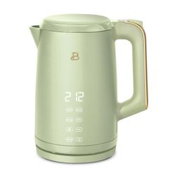 Beautiful 1.7L One-Touch Electric Kettle, Sage Green by Drew Barrymore   Walmart (US)