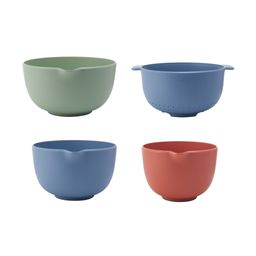 Beautiful Mixing Bowls and Colander Set in Assorted Colors   Walmart (US)