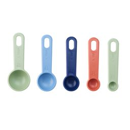 Beautiful Nesting Measuring Spoons with Ring in Assorted Colors   Walmart (US)