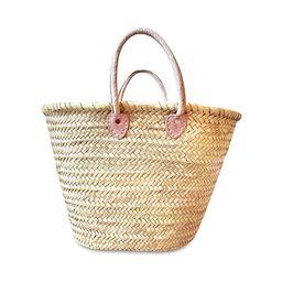purifyou Handmade Moroccan Basket | Storage, Blankets, Laundry, Market | Large | Amazon (US)