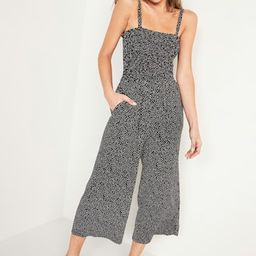 Smocked Jersey Cami Jumpsuit for Women   Old Navy (US)