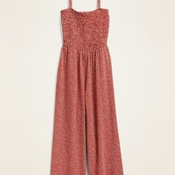 Smocked Jersey Cami Jumpsuit for Women | Old Navy (CA)