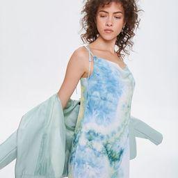 Tie-Dye Chiffon Mini Dress   Forever 21 (US)