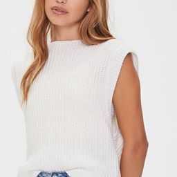 Ribbed Sweater-Knit Vest   Forever 21 (US)
